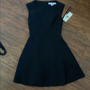 French connection black work dress